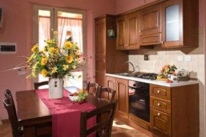 Dove alloggiare a Gubbio - Agriturismo Le dolci Colline - Appartamento Ciliegia