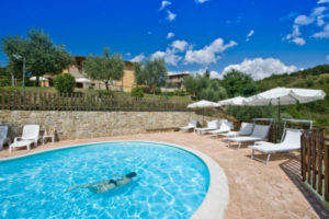 Vacanza in Appartamenti Gubbio con piscina - Agriturismo Le Dolci Colline